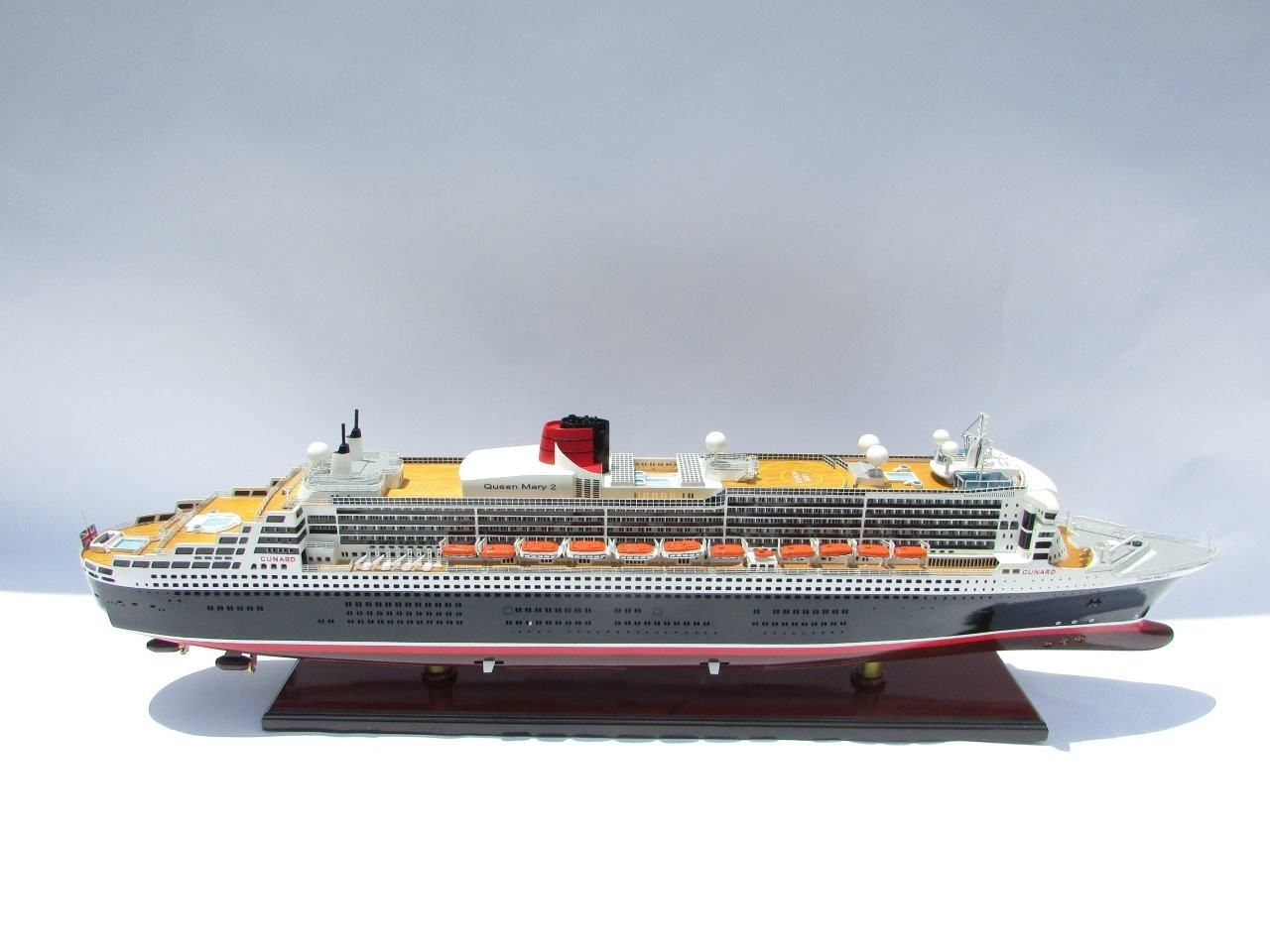 Maquette Queen Mary 2