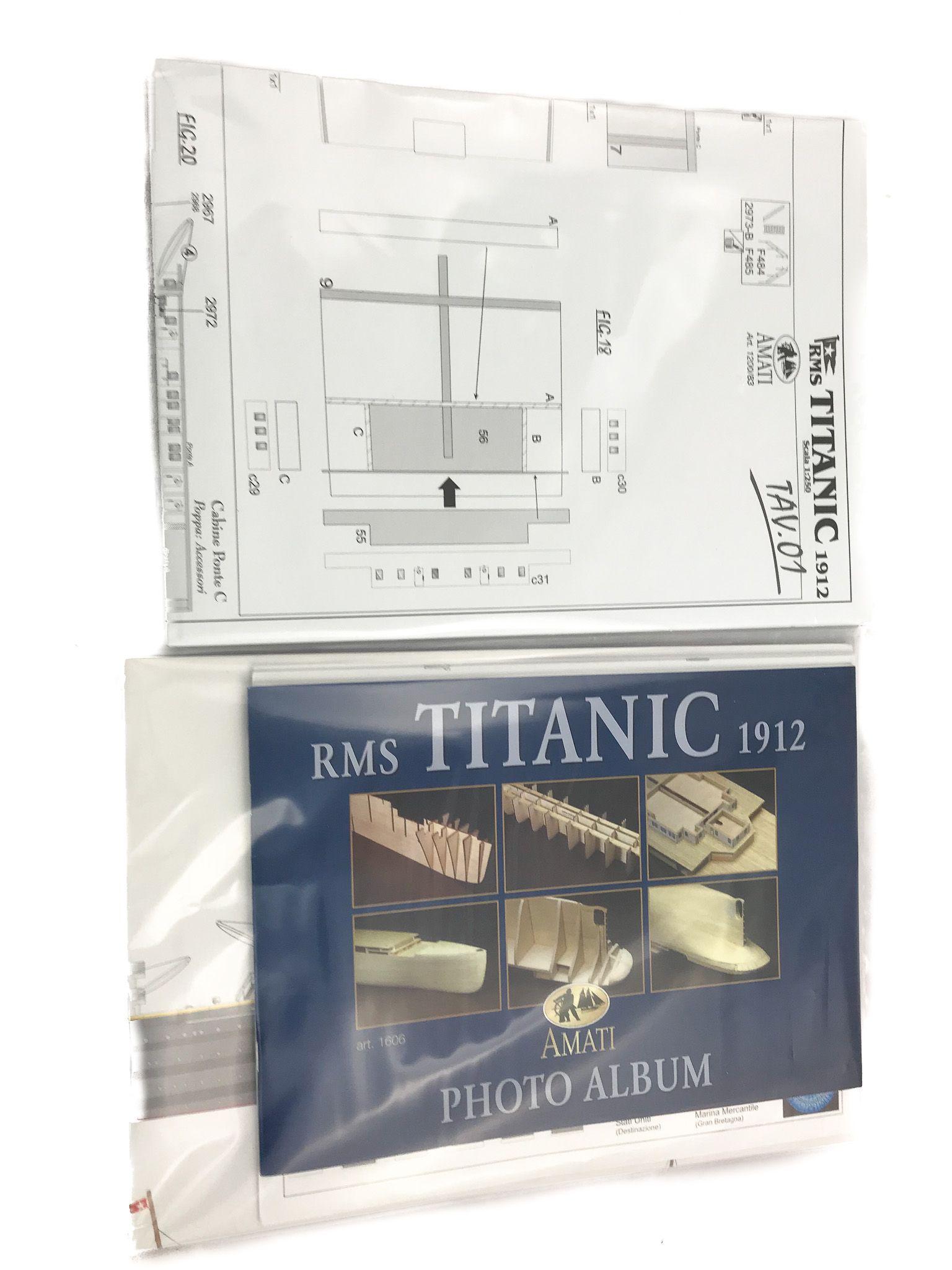 Maquette à monter - RMS Titanic - Amati (1606)