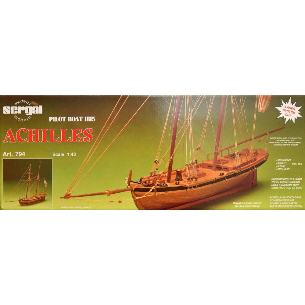 Maquette à Construire - Achilles 1812 Pilot Cutter - Sergal (794)