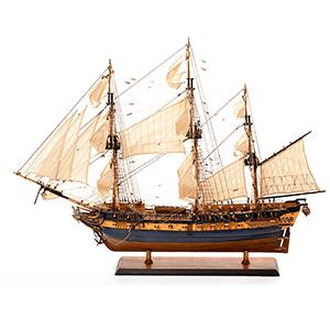 Maquettes de Navires Historiques