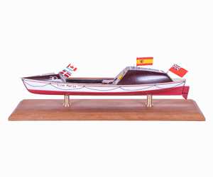 Maquettes barques et avirons
