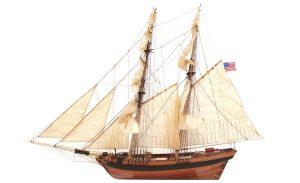 Maquette de bateau Dos Amigos Schooner - Occre (13003)