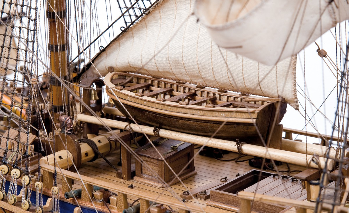 Kit de maquettes de bateaux HMS Endeavour - Occre (14005)
