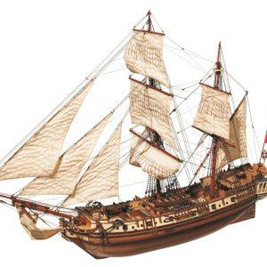Maquette de bateau La Candelaria - Occre (13000)