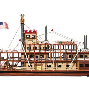 Kit de maquettes de bateaux Mississippi - Occre (14003)