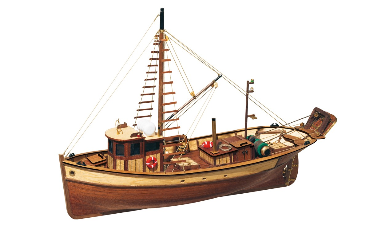 Kit de maquettes de bateaux de pêche Palamos - Occre (12000)