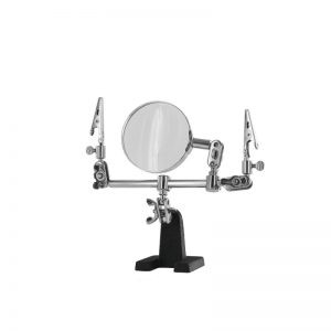 Modelcraft Helping Hands & Glass Magnifier (PCL2228)