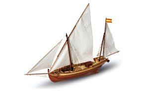 Maquette de bateau de San Juan - Occre (12001)