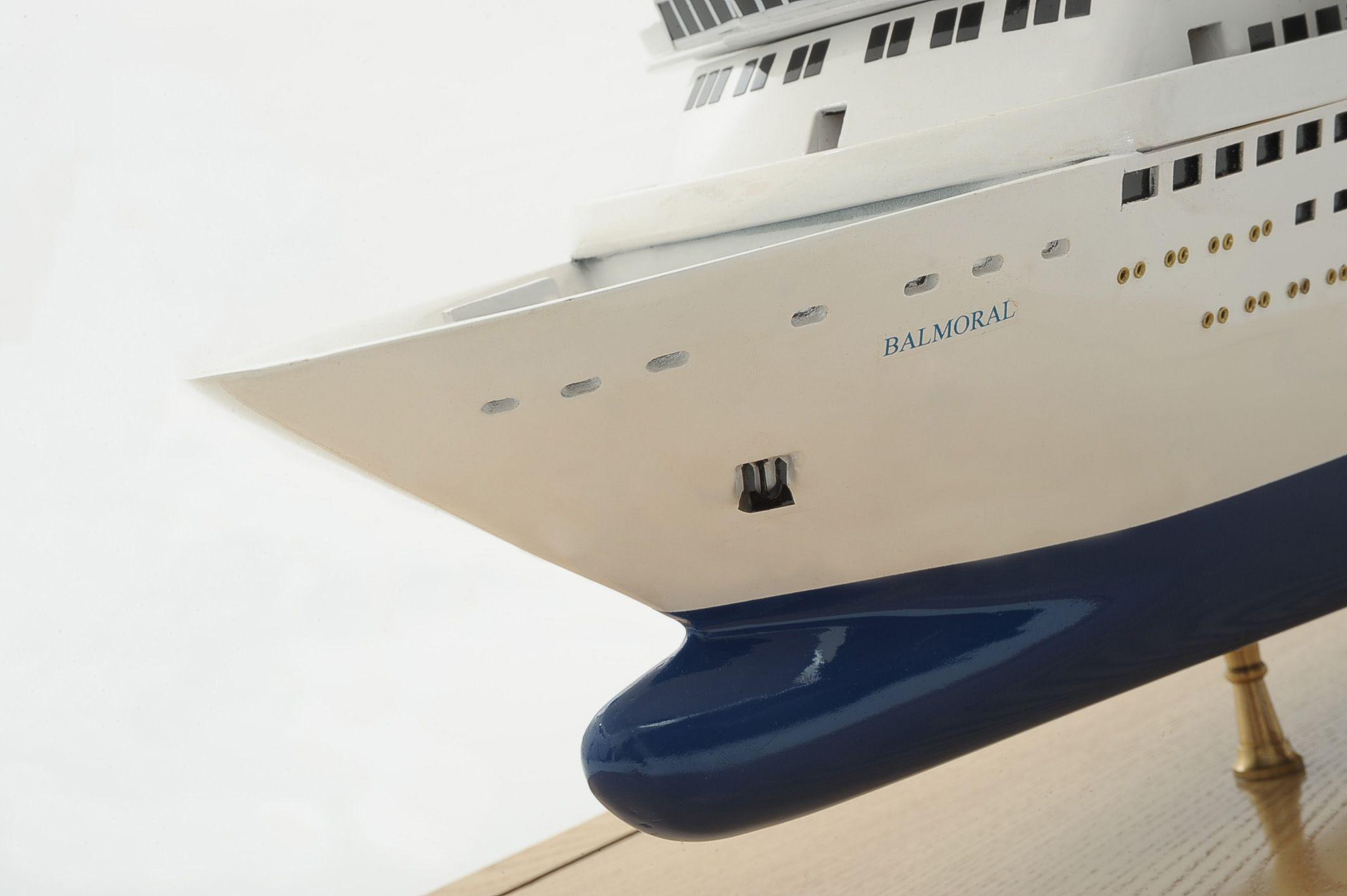 Maquette bateau - Le Balmoral