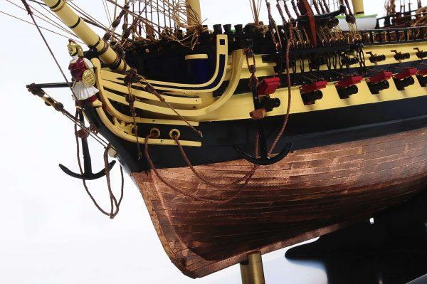 Maquette bateau - HMS Agamemnon