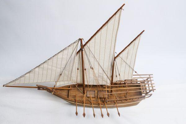 Maquette bateau - Boutre Shu ai