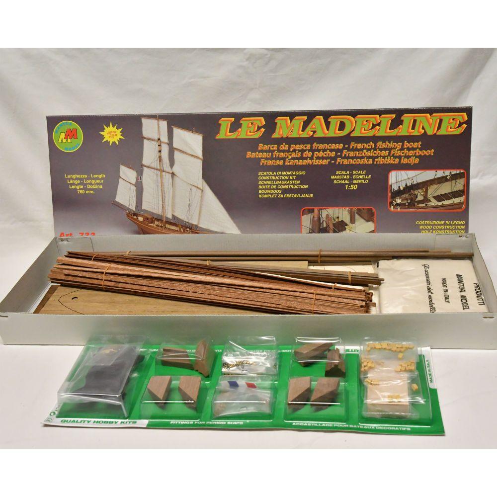 Maquette à construire - Bateau français de pêche La Madeline - Mantua Models (732)