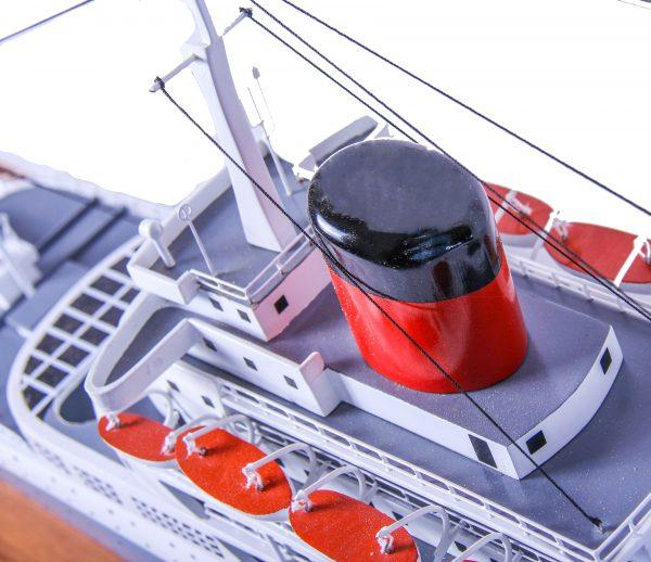 Maquette bateau - paquebot Transvaal Castle