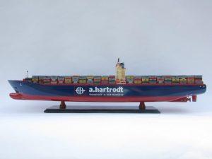 Maquette de Bateau Personnalisée Emma Maersk Avec Changement de Marque