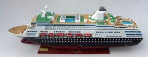 Modèle de bateau Maasdam
