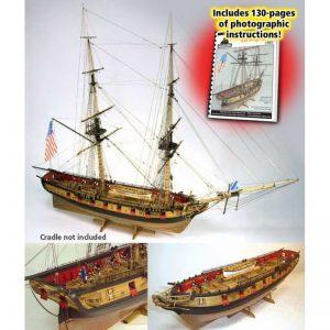 Maquette à Monter - Syren US Brig (1803) Kit - Model Shipways (MS2260)