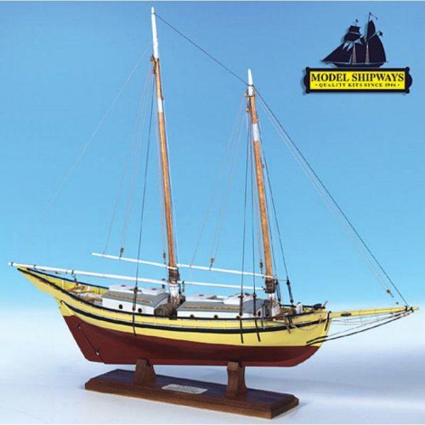 Maquette à monter - Glad Tidings Pinky Schooner (1937) - Model Shipways (MS2180)