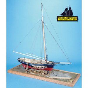Maquette à monter - Emma C Berry Lobster Smack - Model Shipways (MS2150)