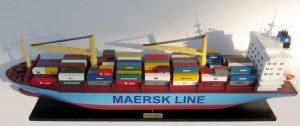 Bateau Modèle Conteneur Maersk Alabama - GN (TK0064P)