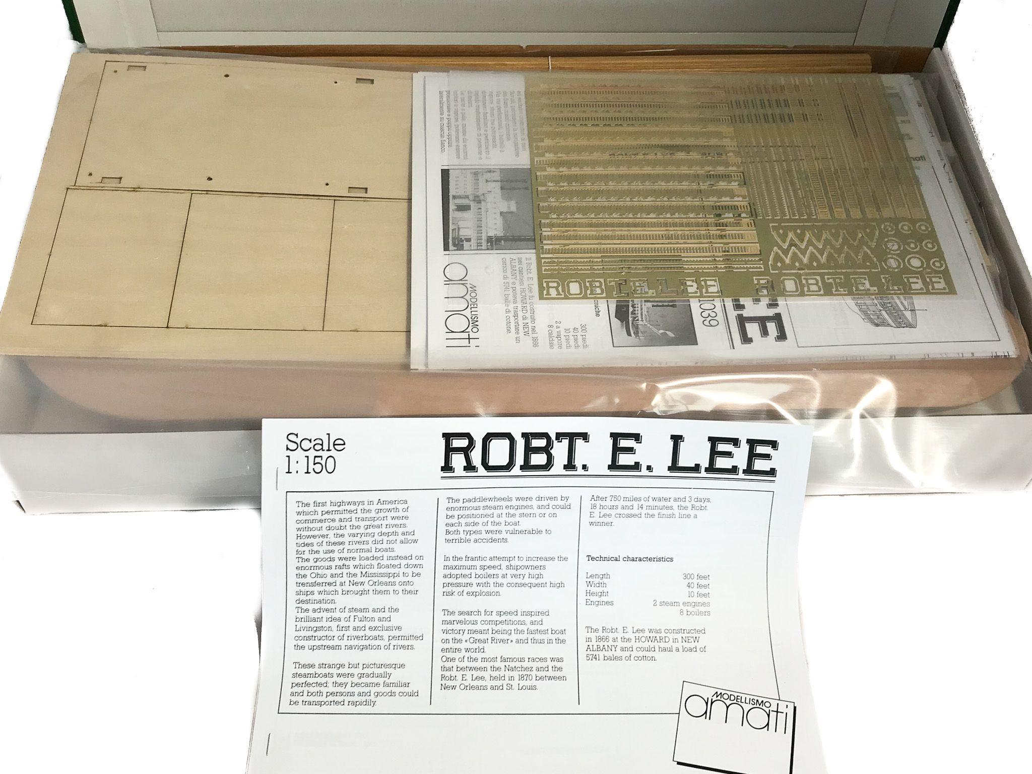 Maquette à Construire - Robert E Lee Amati (1439)