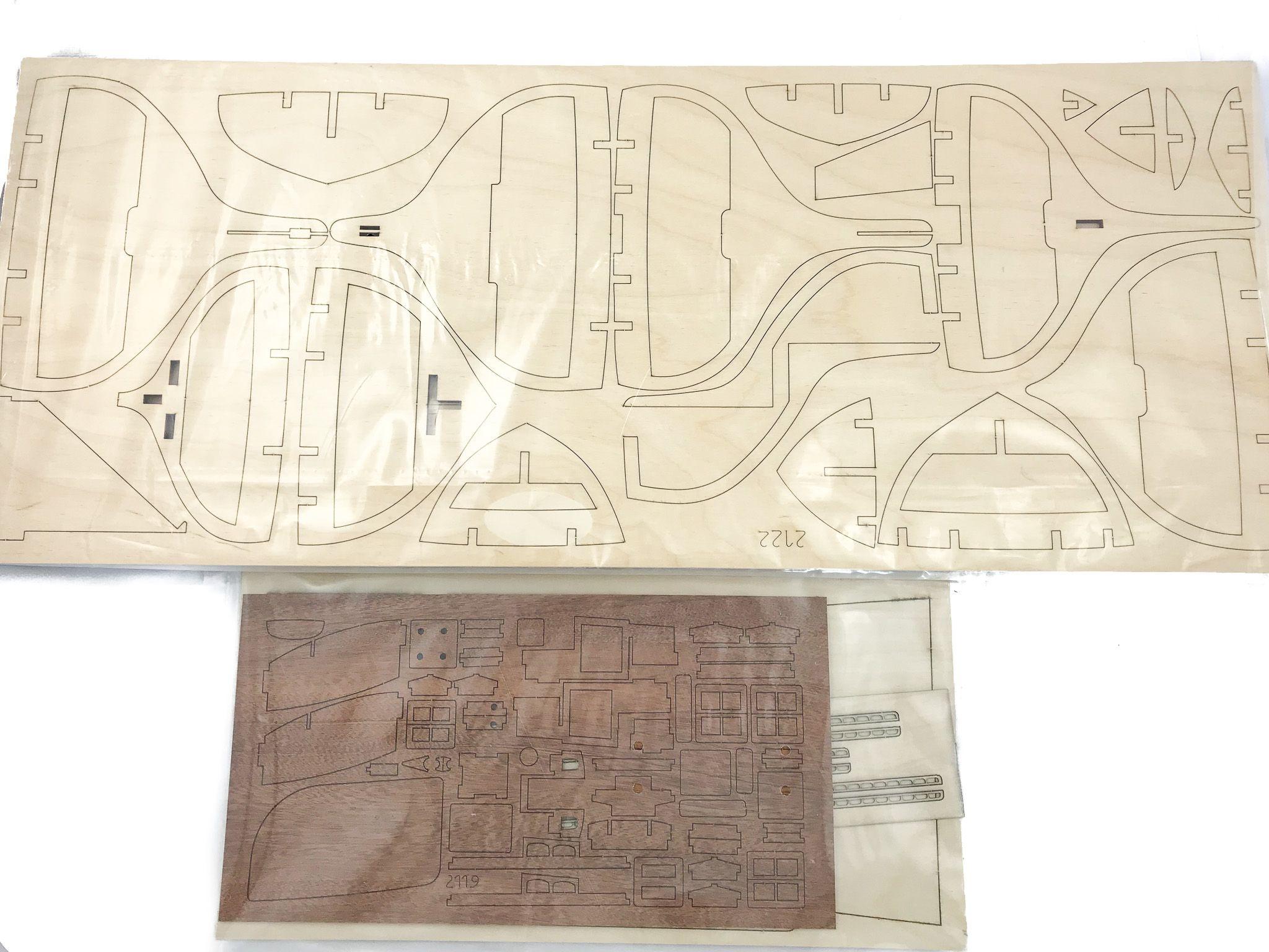 Maquette à monter - Yacht Endeavour - Amati (1700/82)