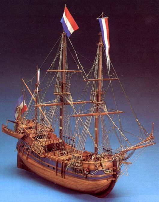 Maquette à monter - Baleinier néerlandais - Sergal (790)