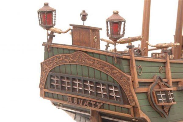 Maquette navire historique le Bounty