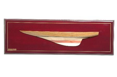 Maquette bateau - Demi-coques (Gamme Supérieure)