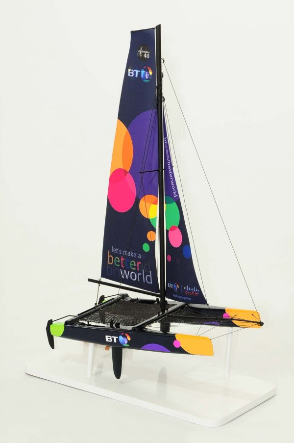 Maquette bateau - Yacht Extreme 40