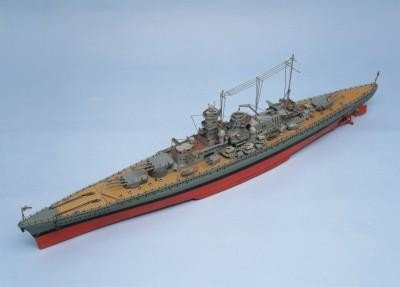 Maquette à Construire: Scharnhorst Compris les Raccords – Aeronaut (AN3625-03)