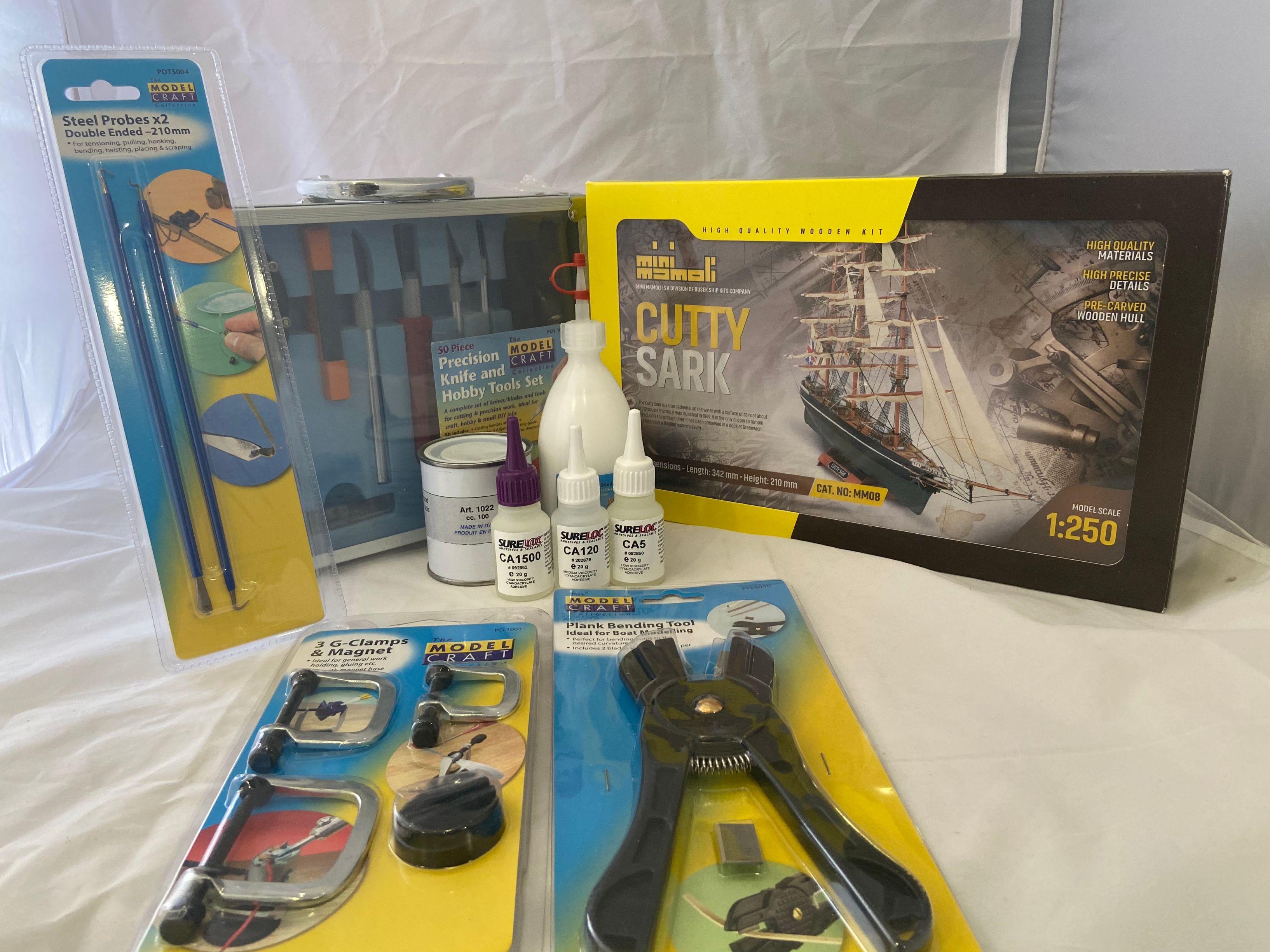 Cutty Sark Kit pour débutant tout en un