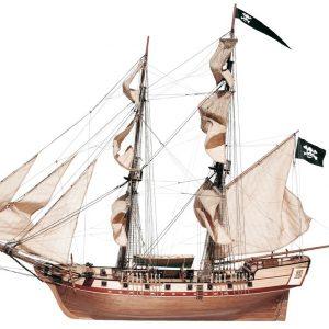 Maquette de bateau en bois Corsair Brig - Occre (13600)