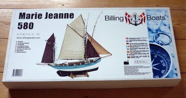 Maquette à monter - Marie Jeanne - Billing Boats (B580)