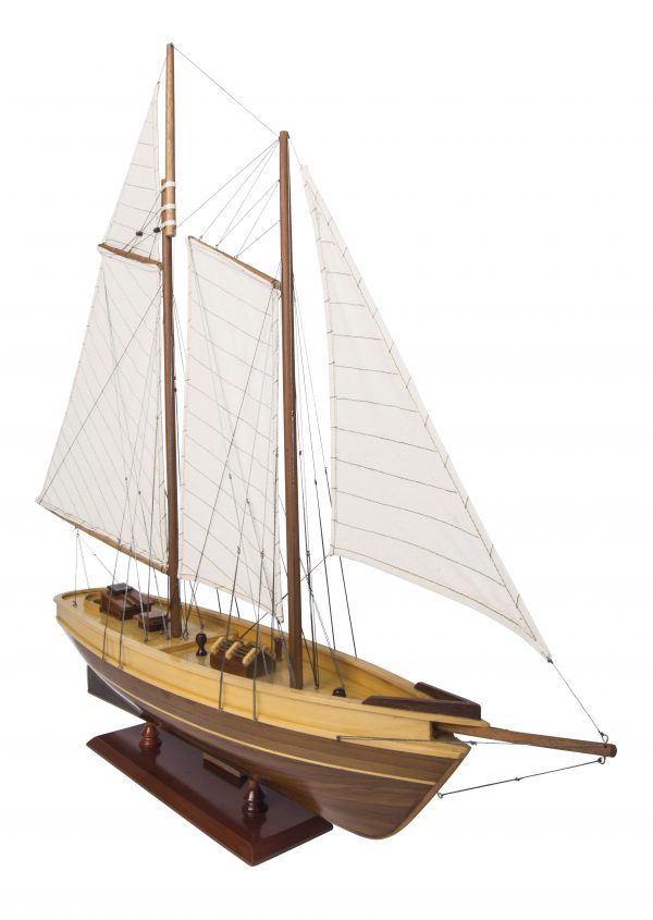 Maquette de yacht America (Gamme Standard) - Authentic Models (AS137)