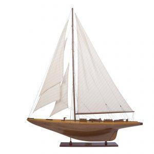Modèle réduit de yacht en bois Shamrock (Gamme standard) - Modèles authentiques (AS157)