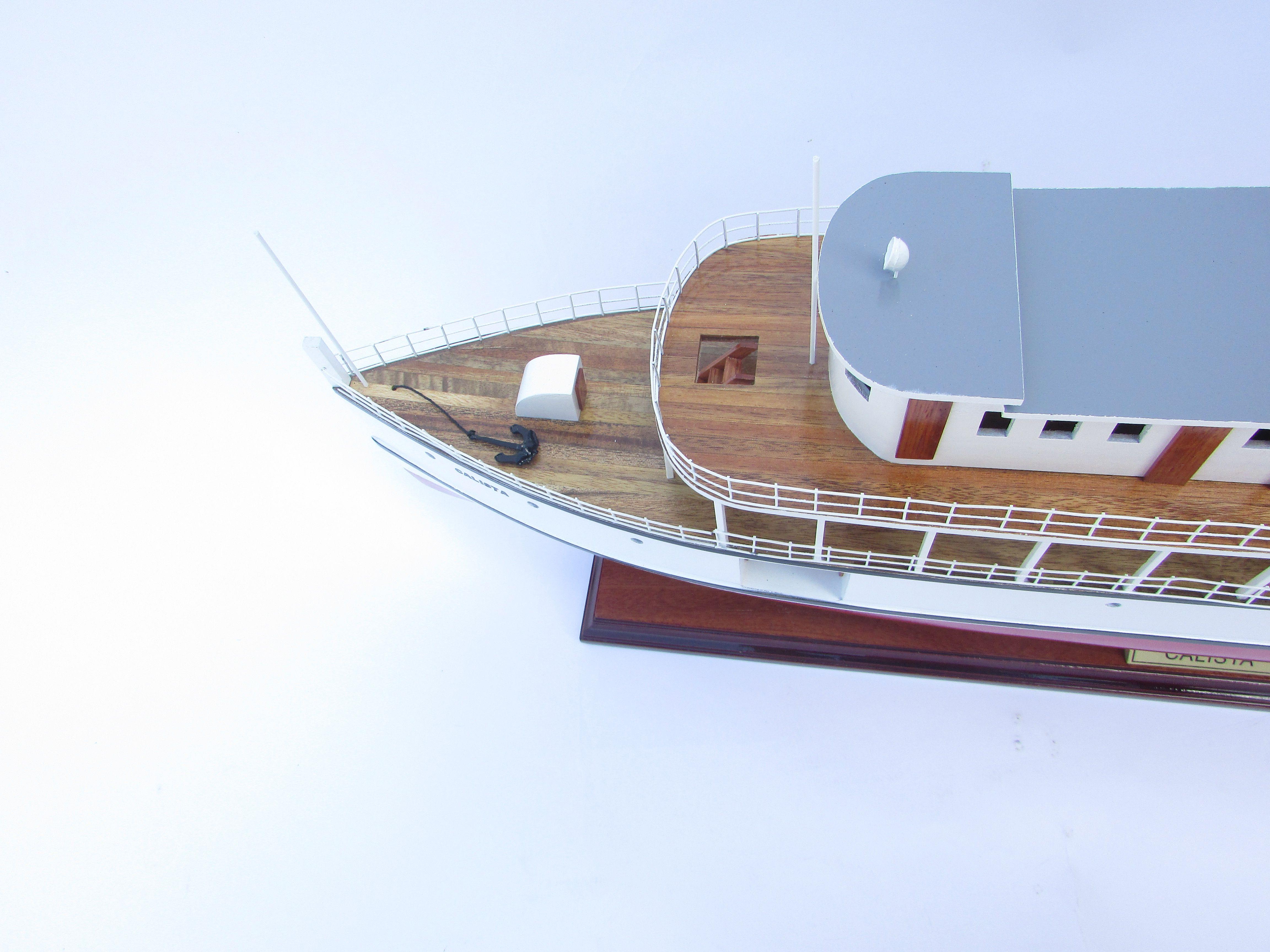 Maquette de bateau Calista - GN (CS0151P)