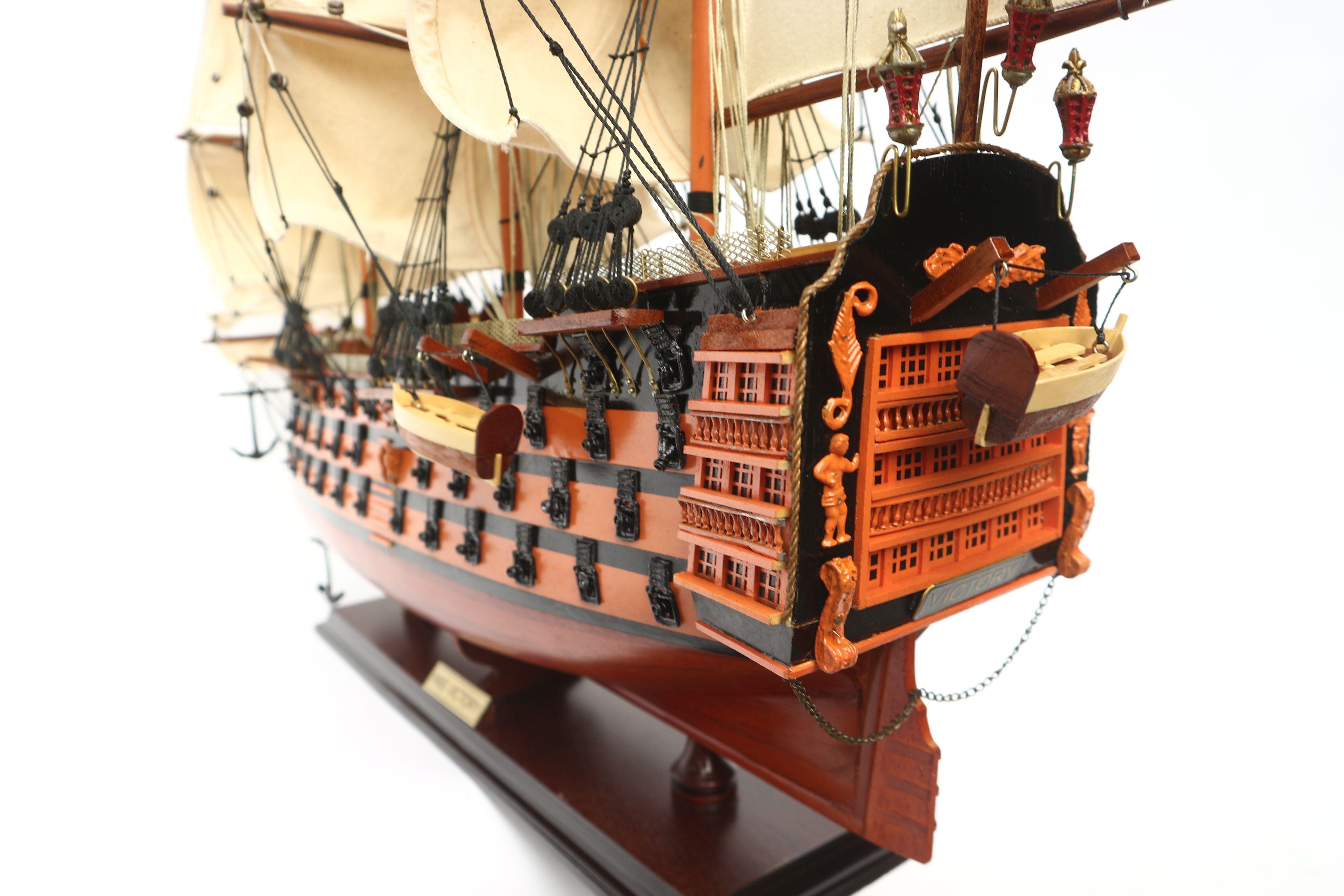 Maquette bateau - HMS Victory (Gamme Standard) - GN (TS0001P-60/80)