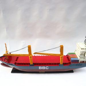 Le BBC navire de cargo modèle réduit - GN (TK0012P)
