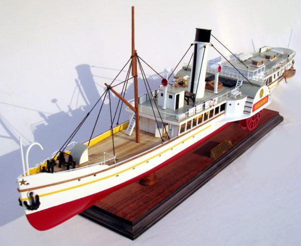 Bateau à Vapeur Skibladner Ship Model – GN (CS0008P)
