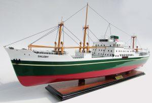 MV Daleby Maquette de Bateaux – GN (TK0078P)