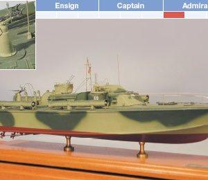 80' Elco PT Boat Maquette de Bateau à Construire - BlueJacket (K1005)