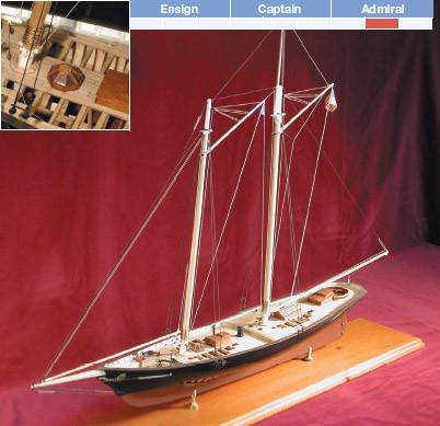 America Maquette à construire - BlueJacket (K1050)