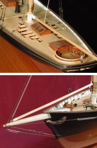 America Yacht Maquette de Bateau à Construire - BlueJacket (KLW143)
