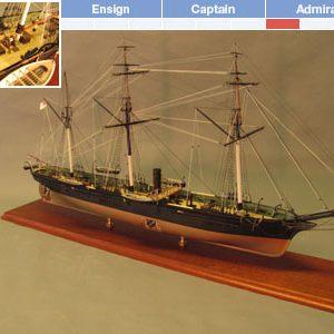 CSS Alabama Maquette à construire - BlueJacket (K1101)