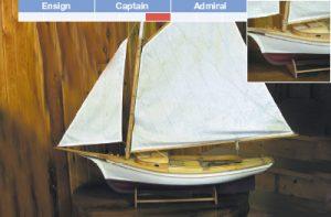 Muscongus Bay Lobster Smack R/C Maquette de Bateau à Construire - BlueJacket (KLW117)