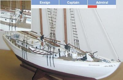 Bowdoin Yacht Maquette à monter - BlueJacket (KLW128)