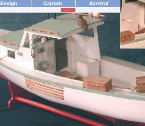 Lobster Boat Maquette de Bateau à Construire - BlueJacket (KLW207)