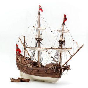 Willem Barentsz' Maquette de Bateau à Construire - Kolderstok (KOL6)