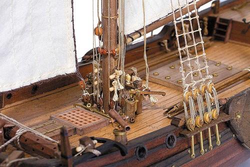 Deck-Boat St. Gabriel 1728 Maquette de Bateau à Construire - Master Korabel (MK0301)