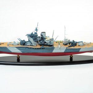 Maquette bateau HMS Warspite
